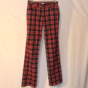 Vintage Tommy Hillfiger Jeans Red Plaid